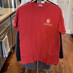 Adult Medium University Of Arkansas T Shirt